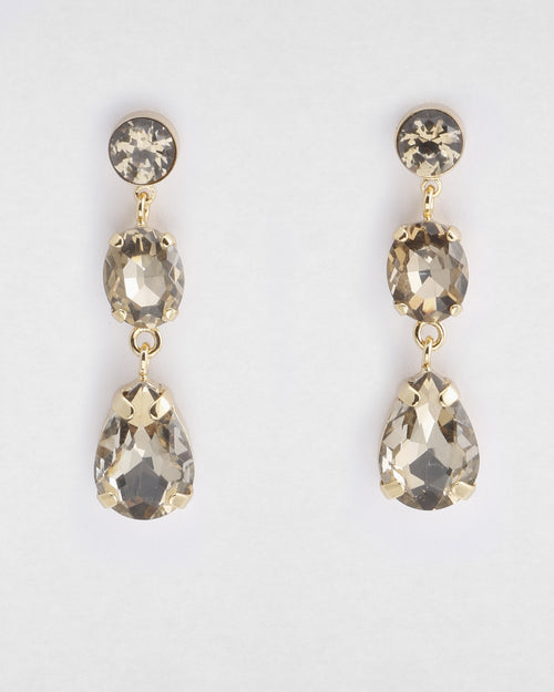 Isabel Crystal- Earring