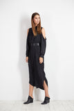 Cut Out Dress- Espresso