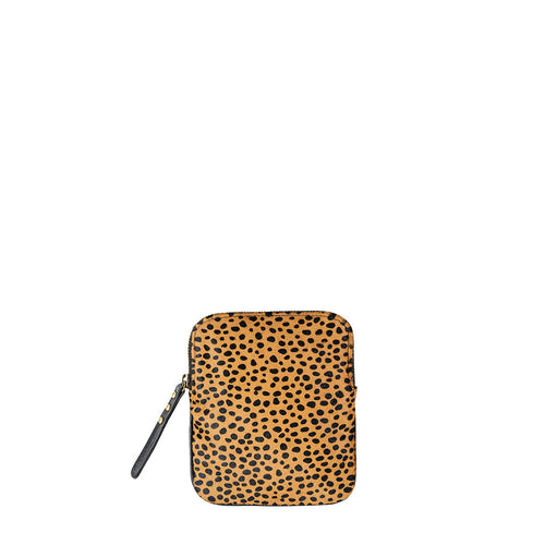 Law of the Wild Pouch- Black/Cheetah