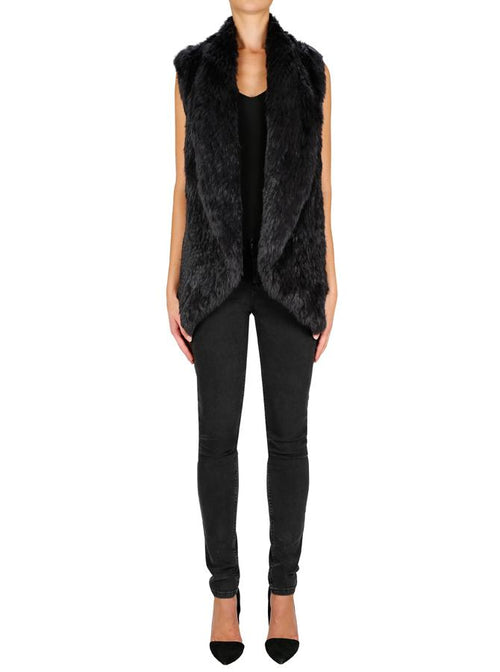Lush Luxe Vest- Anthracite