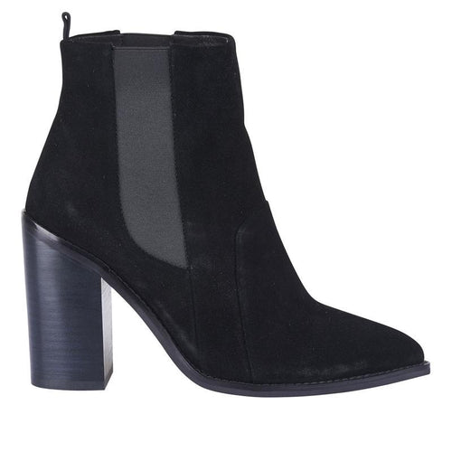 Lori Boot- Black Suede