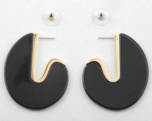 Maye Earring- Black
