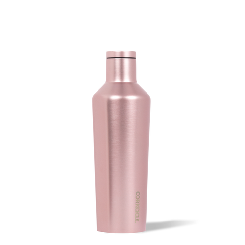 Classic Canteen 16oz- Rose Metallic