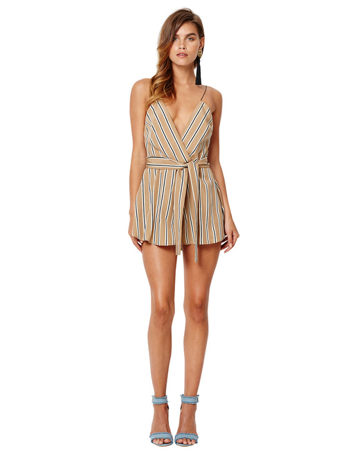 Christolfe Playsuit- Stripe