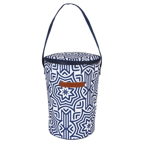 Cooler Bucket Bag- Azule