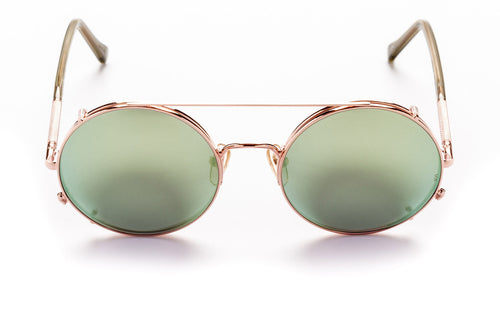 Valentine- Rose Gold W/ Mint Mirror Lens