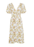 Rafa Midi Dress- Goldie Floral