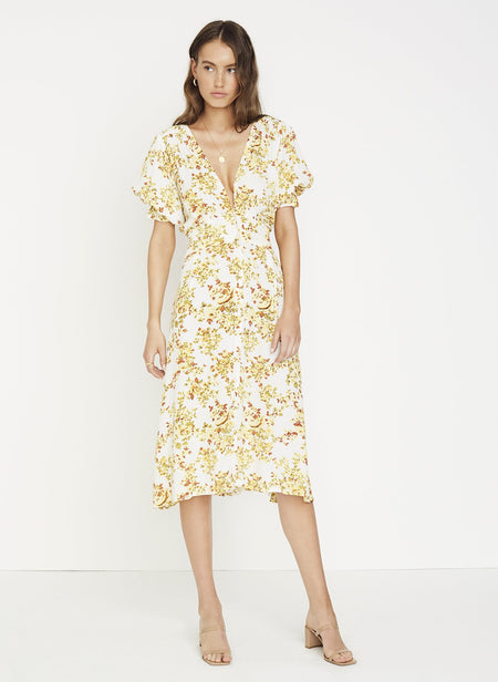 Anina Dress- Goldie Floral
