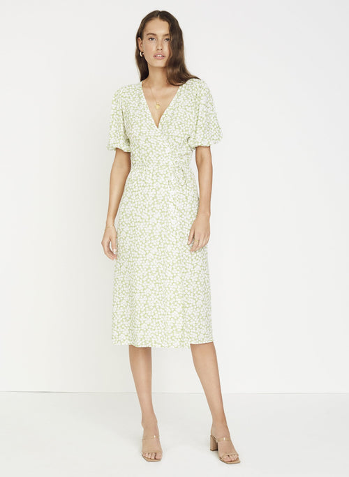 Marta Midi Dress- Bella Floral