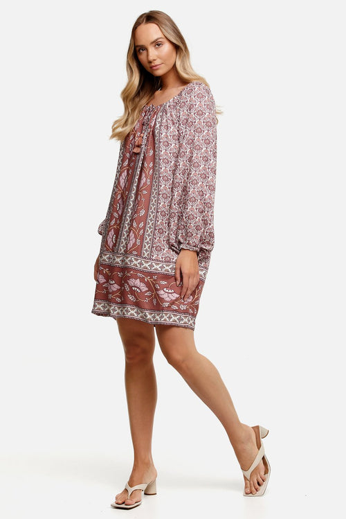 Samara Arlo Tunic- Rose