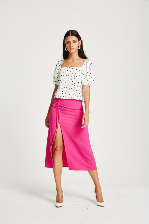 Aiken Skirt- Electric Pink
