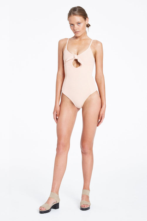 Wild Wood One Piece- Nude
