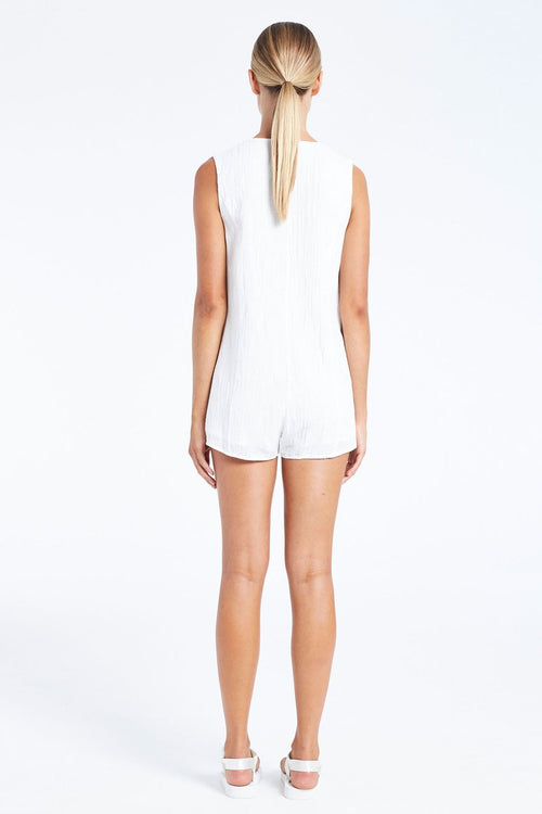 Kim Playsuit- White