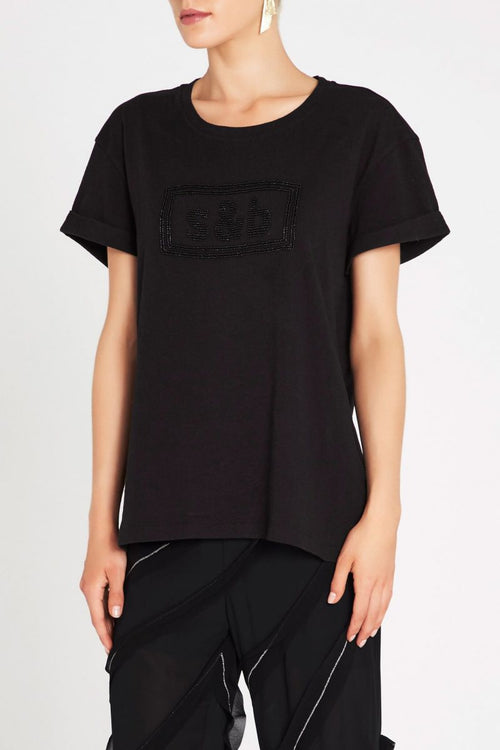 Boss Goddess Tee- Black