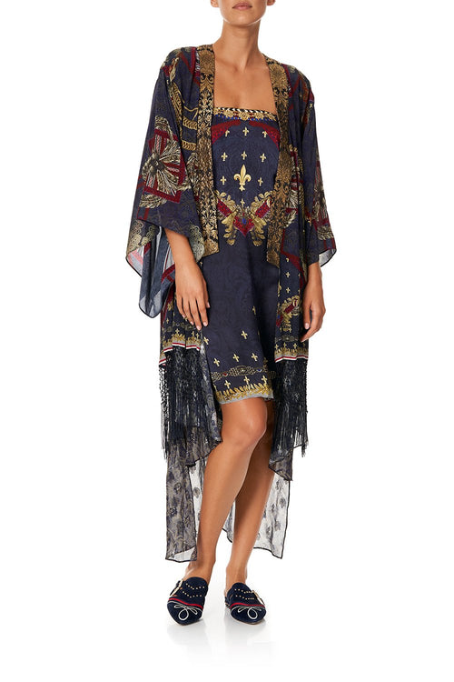 Kimono W/ Long Underlay- This Charming Woman