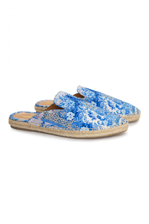 Espaderille Slipper- Geisha Gateways