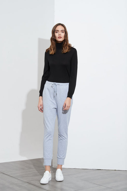 Drawcord Lounge Pant- Blush