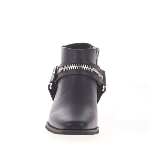 Eddie Boot II- Black Leather