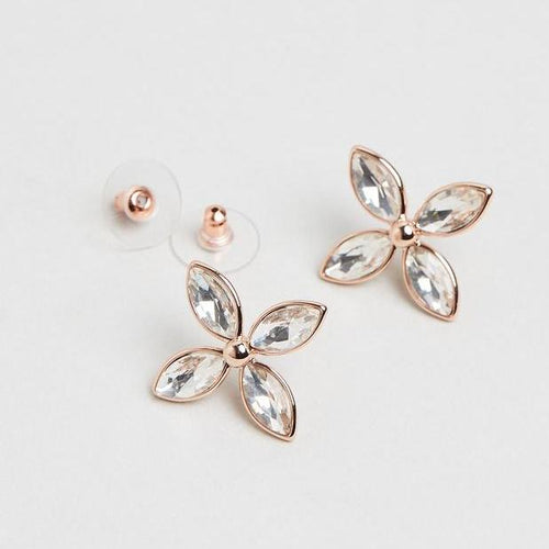 Ebba Earrings- Rose Gold