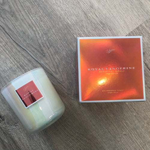 Eco Candle- Royal Tangerine