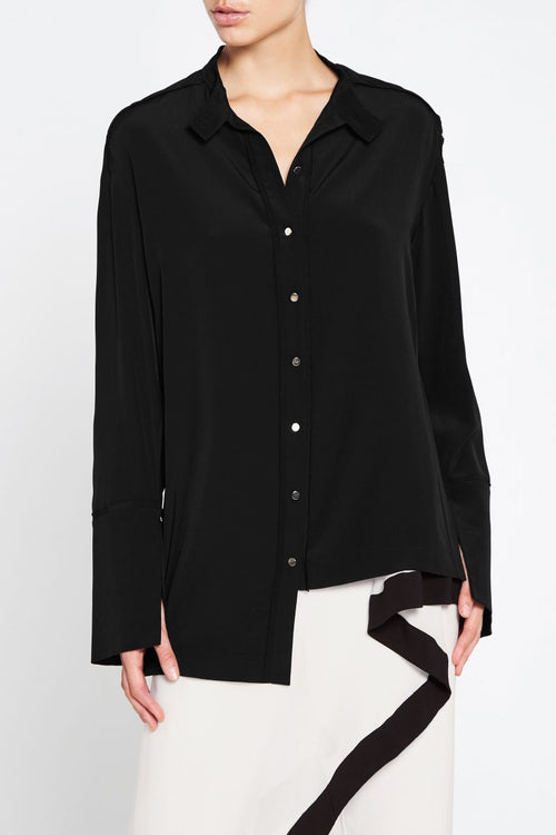 In The Moment Shirt- Black