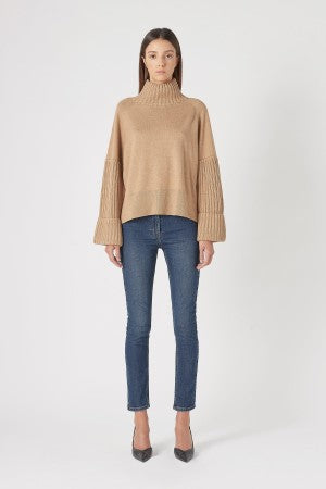 Turner Turtleneck Knit- Cinnamon