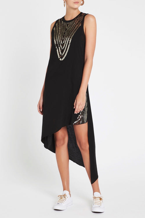 Dream Away Dress- Black