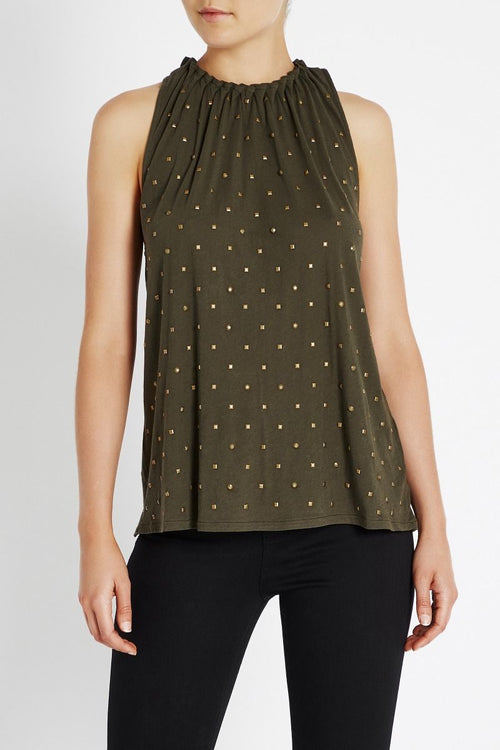Bounty Seeker Tank- Dark Olive