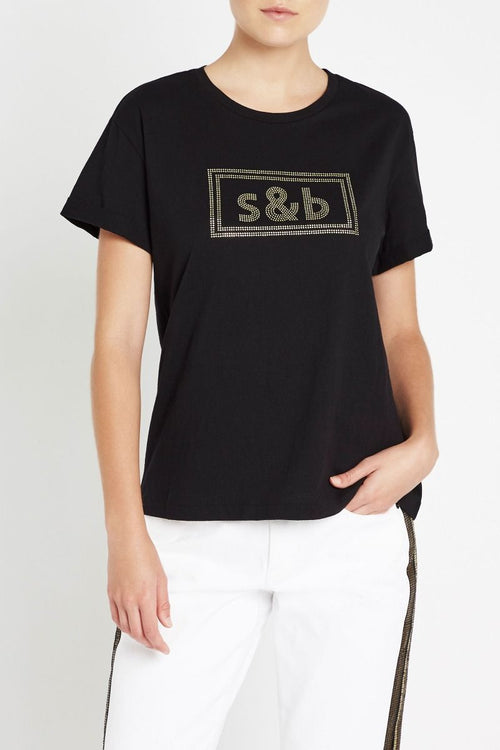 The New Brave Tee- Black