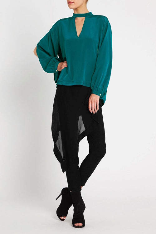Every Heartbeat Top- Emerald