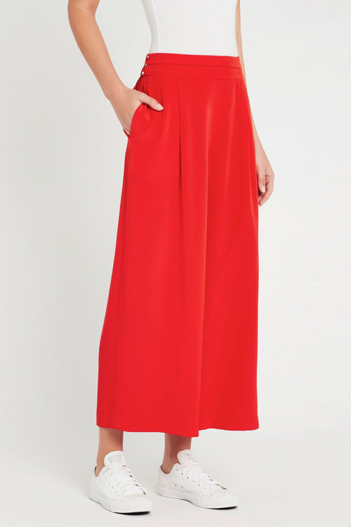 Silk Spell Pant- Red
