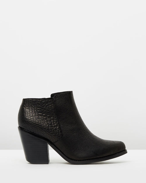 AlexII Boot- Black Elephant