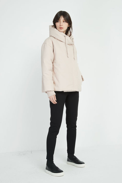 Big Collar Jacket- Blush