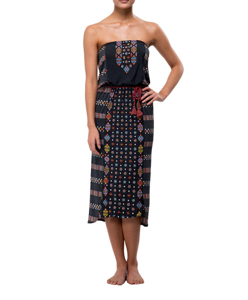 79967a908208a7 Zapotec Dress- Charcoal – Wilson and Hunter