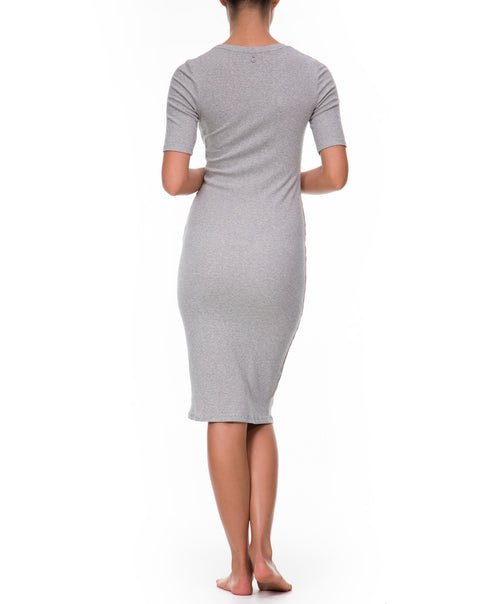 Oudom Dress- Grey