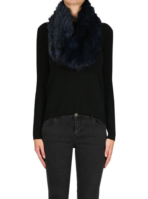 Lush Luxe Snood- Navy