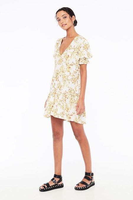 Debbie Shirt Dress- Rossi Print