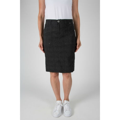 Acrobat Cobra Skirt- Charcoal/Black