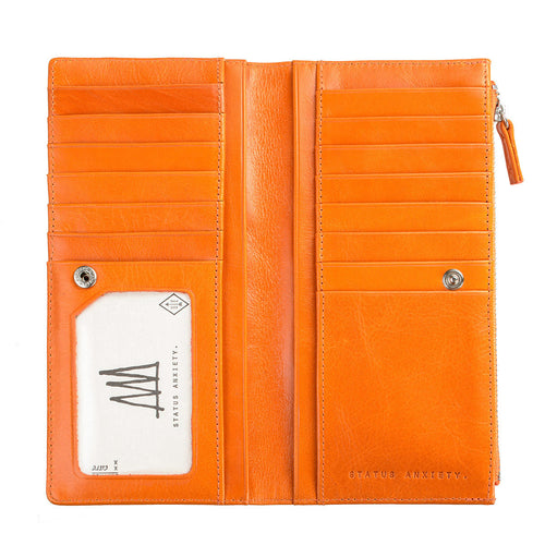 Dakota Wallet- Burnt Orange