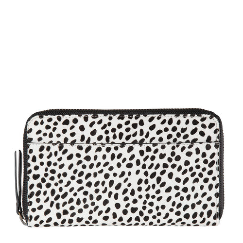 Deliah Wallet- Snow Cheetah