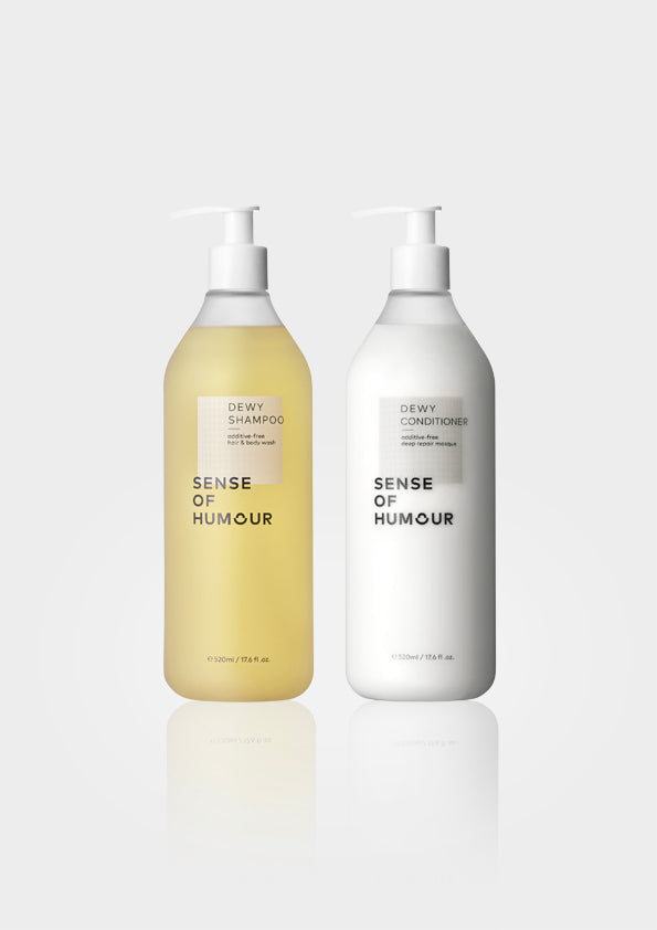 DEWY HAIR CARE SET 520ml BIG BOTTLE 【ONLINE exclusive!】