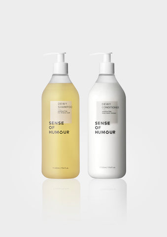 【SALE】DEWY HAIR CARE SET 520ml BIG BOTTLE