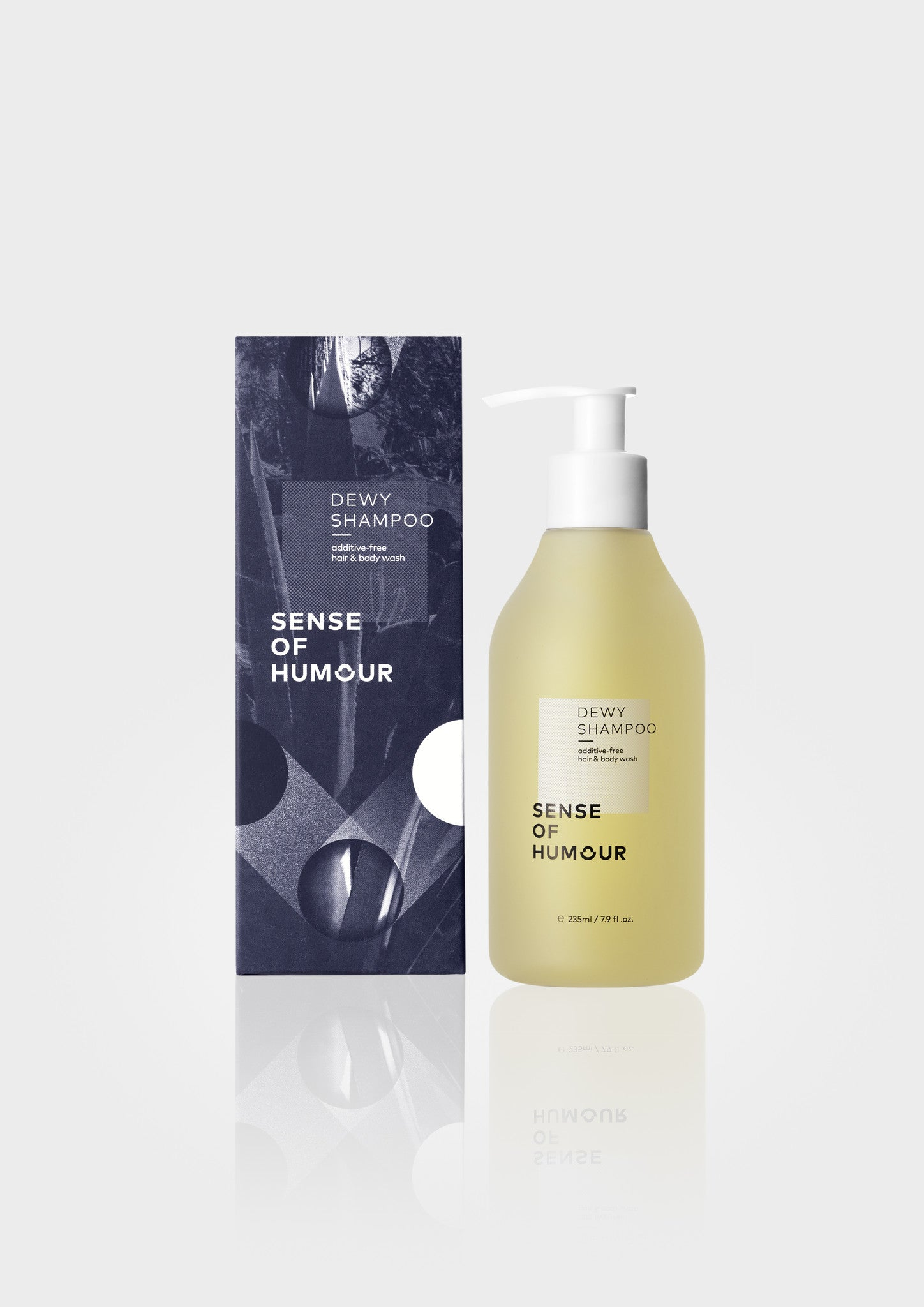 DEWY SHAMPOO additive-free hair & body wash