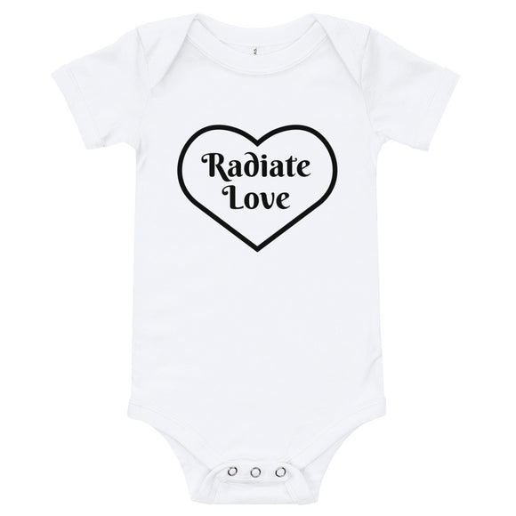 Radiate Love Onesie