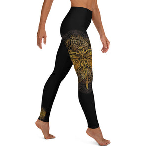 Dragonfly Spirit Yoga Leggings