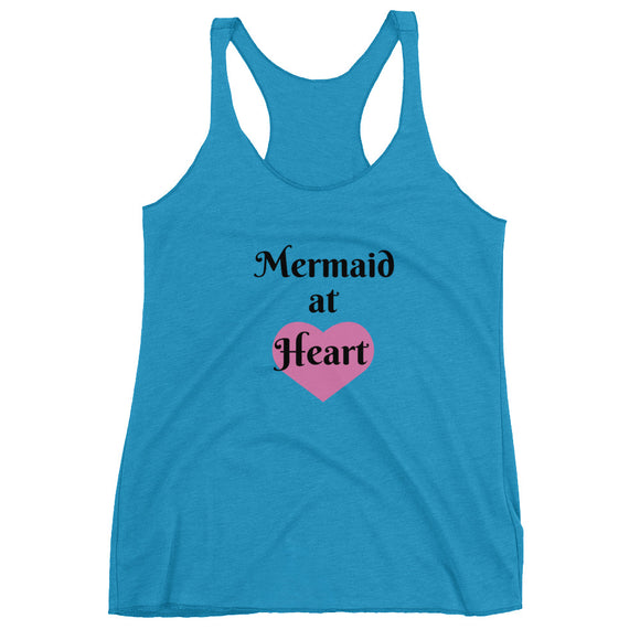 'Mermaid at Heart' Racerback Tank
