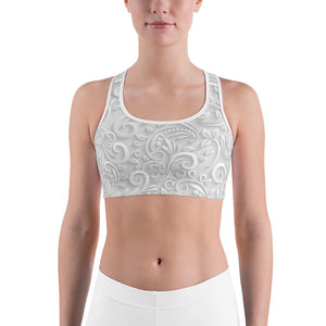 Frosted Ivory Sports Bra