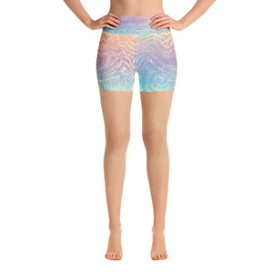 Mermaid Sand Yoga Shorts