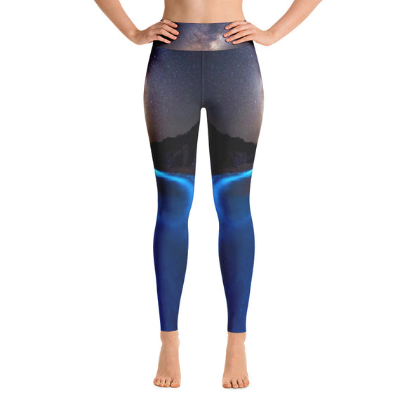Luminescent Shores Yoga Leggings