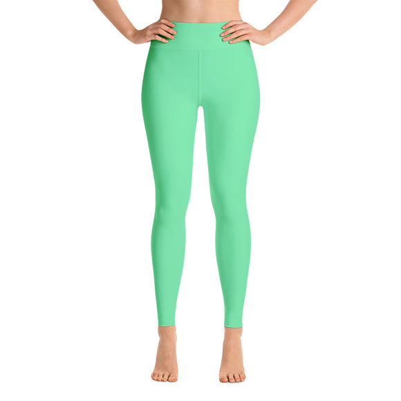 Green Sorbet Yoga Leggings